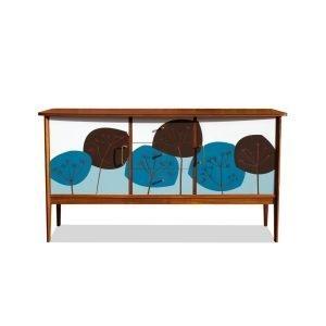 Upcycled mid century teak sideboard